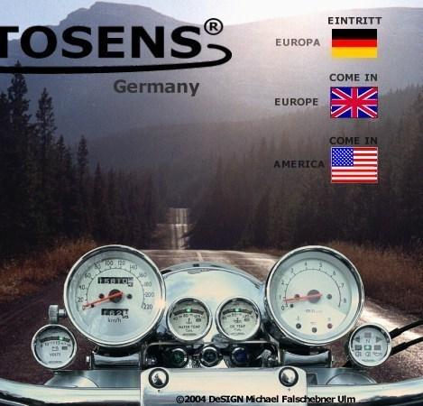 MOTOSENS Motorradzusatzinstrumente - Motor Cycle Add-On Instruments